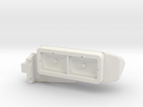 1/24 peterbilt 379 Left Light asm in White Natural Versatile Plastic