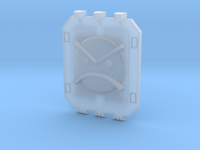 Land_Raider_Door_Angry_Marine_01 in Smooth Fine Detail Plastic