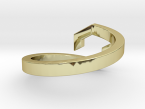 GAIA - Bague  in 18k Gold Plated Brass: 3 / 44