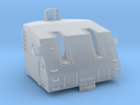 """1/72 USN 5""""/38 cal. Mk.38 Twin Mounts in Smooth Fine Detail Plastic"""