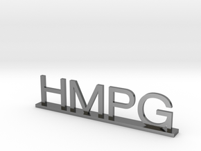HMPG in Polished Silver