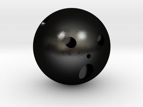 Frank Incense Holder Pendant in Matte Black Steel