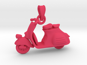 Vespa Pendant in Pink Processed Versatile Plastic