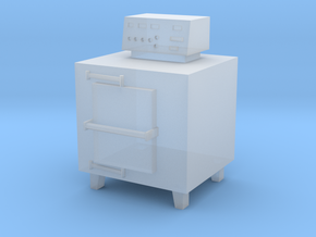HO Scale Small Incinerator in Smooth Fine Detail Plastic