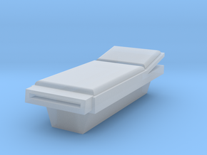 HO Scale Incline Bed in Smooth Fine Detail Plastic