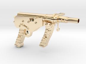 OstinMK2AustralianSMG1C in 14k Gold Plated Brass