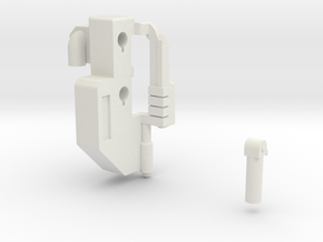 Tarn Weapon Adapter - MMC Kultur in White Natural Versatile Plastic