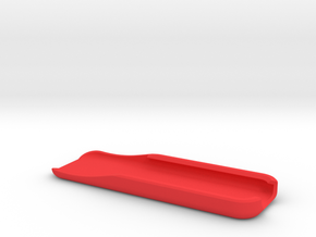 Apple TV Remote Case in Red Processed Versatile Plastic