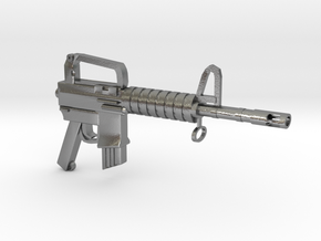 CAR15 SMG in Natural Silver