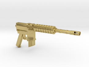 CAR15 COMMANDO FANTASTIC SMG in Natural Brass