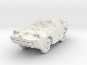 BRDM 1 scale 1/87 in White Natural Versatile Plastic