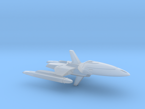 USS Reinhardt (Voyager Concept #2) / 6cm - 2.36in in Smooth Fine Detail Plastic