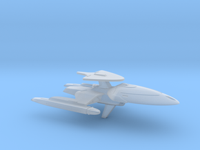 USS Borgnine (Voyager Concept #4) / 6cm - 2.36in in Smooth Fine Detail Plastic