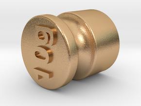 Test weight 10 gram in Natural Bronze