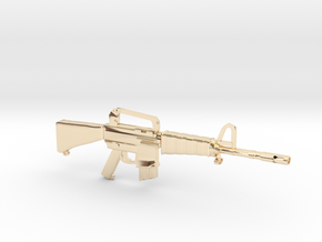 M16A1 v2 in 14K Yellow Gold