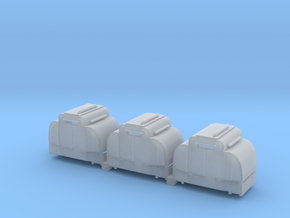 B-1-160-armoured-simplex-1a in Smooth Fine Detail Plastic