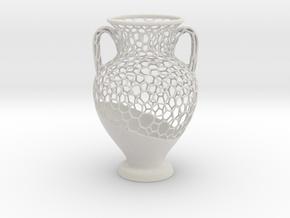 Wire Amphora in Matte Full Color Sandstone
