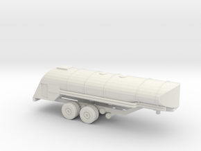 1/87 F-1 Fuel Trailer  in White Natural Versatile Plastic