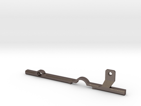 ThumbRail (Lefty)-fits Fender Precision in Polished Bronzed-Silver Steel