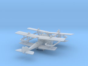 R.A.F. B.E.12a in Smooth Fine Detail Plastic: 6mm