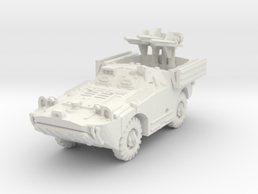 BRDM 1 Snapper (open) scale 1/87 in White Natural Versatile Plastic