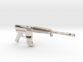 M16A2 SMG in Platinum