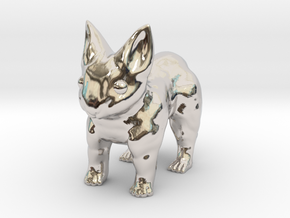 Leopabbit Minuscule Solid in Platinum
