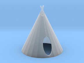 HO Scale Teepee2 in Smooth Fine Detail Plastic