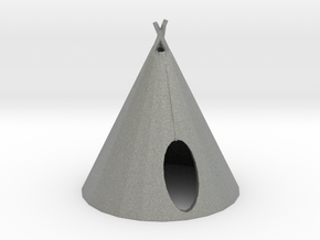 HO Scale Teepee2 in Gray PA12