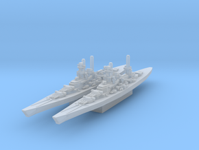 Scharnhorst and Gneisenau (Axis & Allies) in Smooth Fine Detail Plastic