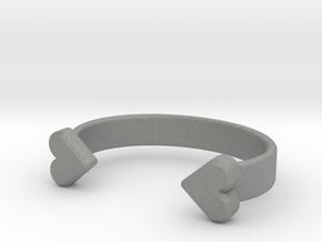 GOGO Hair Tie Bracelet in Gray PA12