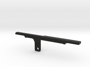 ThumbRail (Bridge Lefty)-fits Fender Amer Dlx Jazz in Black Natural Versatile Plastic