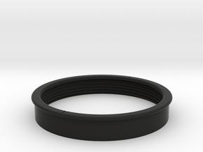 Distance Bracelet : Part 2 in Black Premium Versatile Plastic