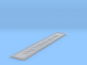 Nameplate USS Perch SS-176 (10 cm) in Smoothest Fine Detail Plastic