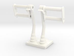 1.5 PALONNIER LAMA in White Processed Versatile Plastic