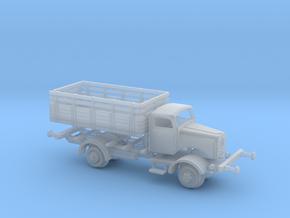 1:220 Railtruck Schienen LKW DRG Mercedes L 4500  in Smooth Fine Detail Plastic