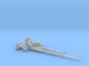 HO/1:87 Mini Crawler Crane Set C kit (optimised) in Smooth Fine Detail Plastic