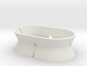 Headphone Holder in White Natural Versatile Plastic