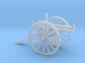 1/48 Scale R J Gatling Battery Gun in Smooth Fine Detail Plastic