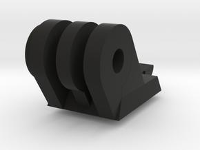 Helmet ARC Rail GoPro Mount in Black Natural Versatile Plastic