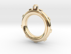 Knot-Aide Fishing Ring in 14K Yellow Gold: Extra Small