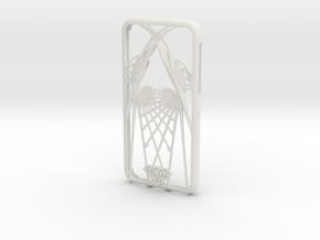 iPhone X case - Wings design in White Natural Versatile Plastic