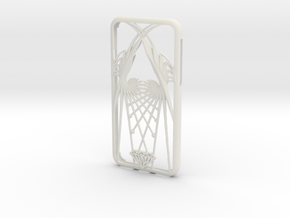 iPhone X case - Wings design in White Natural Versatile Plastic