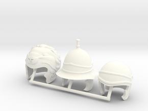 DIMITRIS 11  in White Processed Versatile Plastic