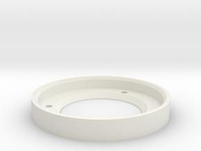 60mm Flight Base magnetiser in White Natural Versatile Plastic