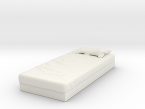 Printle Thing Bed Single - 1/24 in White Natural Versatile Plastic
