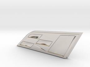 Cupra Badge Grill Replacement in Platinum