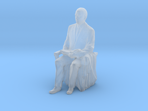 Printle C Homme 1687 - 1/50 - wob in Smooth Fine Detail Plastic