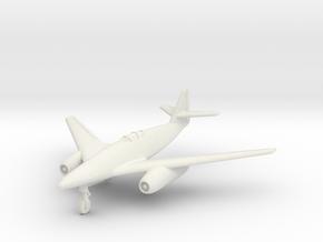 (1:144) Messerschmitt Me 262 (01/1944) HG Design in White Natural Versatile Plastic