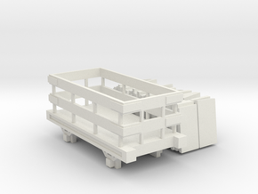 OO9 Slate Truck With Slate Load Talyllyn / SR in White Natural Versatile Plastic